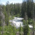 String Lake to Hidden Falls