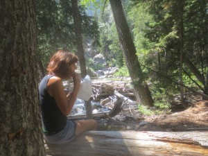 Lunch in Granite Canyon